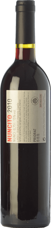 19,95 € Free Shipping | Red wine Mas de les Pereres Nuncito Crianza D.O.Ca. Priorat Catalonia Spain Syrah, Grenache, Carignan Bottle 75 cl