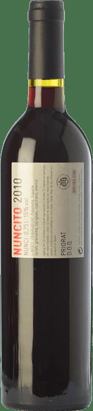 19,95 € Envío gratis | Vino tinto Mas de les Pereres Nuncito Crianza D.O.Ca. Priorat Cataluña España Syrah, Garnacha, Cariñena Botella 75 cl