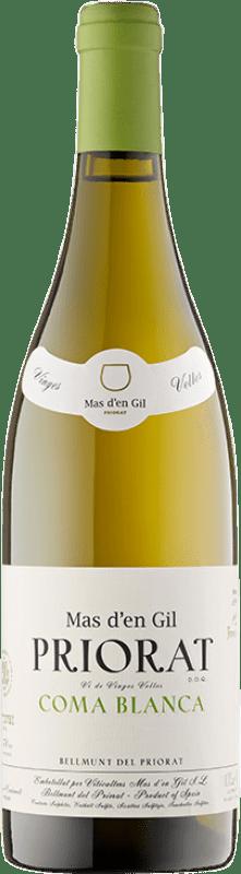 52,95 € Envío gratis | Vino blanco Mas d'en Gil Coma Blanca Crianza D.O.Ca. Priorat Cataluña España Garnacha Blanca, Macabeo Botella 75 cl