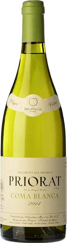 52,95 € Free Shipping | White wine Mas d'en Gil Coma Blanca Crianza D.O.Ca. Priorat Catalonia Spain Grenache White, Macabeo Bottle 75 cl
