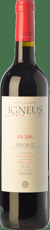 19,95 € Free Shipping | Red wine Mas Igneus Fa 206 Joven D.O.Ca. Priorat Catalonia Spain Syrah, Grenache, Cabernet Sauvignon, Carignan Bottle 75 cl