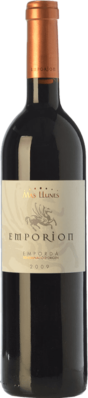 16,95 € | Red wine Mas Llunes Emporion Crianza D.O. Empordà Catalonia Spain Syrah, Cabernet Sauvignon Bottle 75 cl