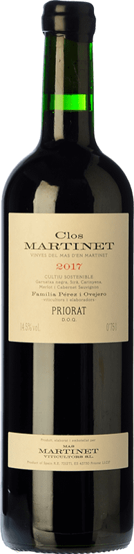 73,95 € Envoi gratuit   Vin rouge Mas Martinet Clos Crianza D.O.Ca. Priorat Catalogne Espagne Merlot, Syrah, Grenache, Cabernet Sauvignon, Carignan Bouteille 75 cl