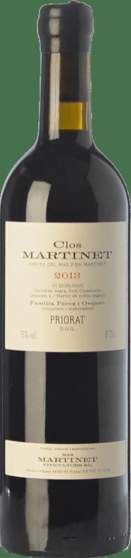 222,95 € Free Shipping | Red wine Mas Martinet Clos Crianza D.O.Ca. Priorat Catalonia Spain Merlot, Syrah, Grenache, Cabernet Sauvignon, Carignan Jéroboam Bottle-Double Magnum 3 L