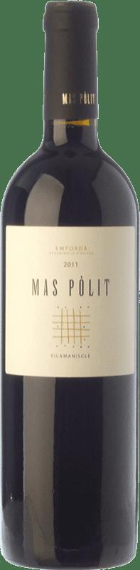 13,95 € | Red wine Mas Pòlit Negre Joven D.O. Empordà Catalonia Spain Syrah, Grenache, Cabernet Sauvignon Bottle 75 cl