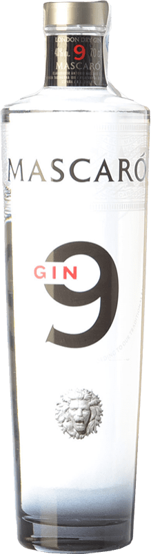 22,95 € Free Shipping | Gin Mascaró Gin 9 Catalonia Spain Bottle 70 cl