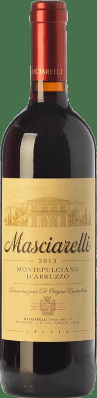 12,95 € Envío gratis | Vino tinto Masciarelli D.O.C. Montepulciano d'Abruzzo Abruzzo Italia Montepulciano Botella 75 cl