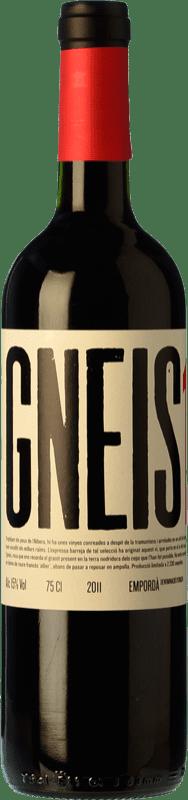 37,95 € Free Shipping | Red wine Masia Serra Gneis Crianza D.O. Empordà Catalonia Spain Grenache, Cabernet Sauvignon Bottle 75 cl