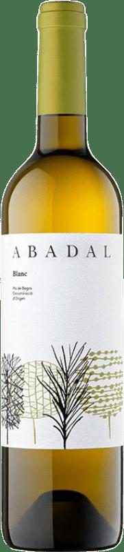 8,95 € Envoi gratuit | Vin blanc Masies d'Avinyó Abadal Blanc D.O. Pla de Bages Catalogne Espagne Chardonnay, Sauvignon Blanc, Picapoll Bouteille 75 cl