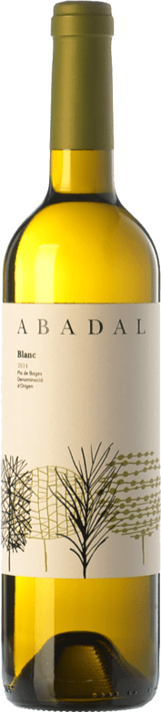 8,95 € Free Shipping | White wine Masies d'Avinyó Abadal Blanc D.O. Pla de Bages Catalonia Spain Chardonnay, Sauvignon White, Picapoll Bottle 75 cl