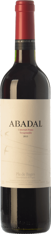 9,95 € Free Shipping | Red wine Masies d'Avinyó Abadal Franc Joven D.O. Pla de Bages Catalonia Spain Tempranillo, Cabernet Franc Bottle 75 cl