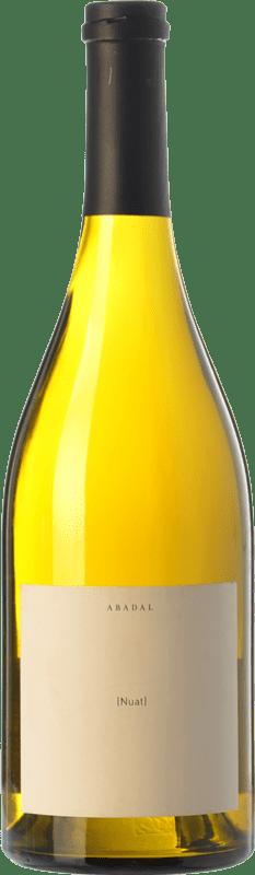 29,95 € Free Shipping | White wine Masies d'Avinyó Abadal Nuat Crianza D.O. Pla de Bages Catalonia Spain Picapoll Bottle 75 cl