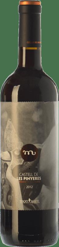 11,95 € Envoi gratuit | Vin rouge Masroig Castell de les Pinyeres Crianza D.O. Montsant Catalogne Espagne Tempranillo, Merlot, Grenache, Cabernet Sauvignon, Samsó Bouteille 75 cl