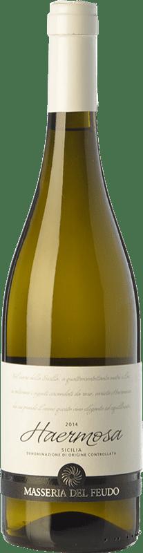 15,95 € | White wine Masseria del Feudo Haermosa I.G.T. Terre Siciliane Sicily Italy Chardonnay Bottle 75 cl