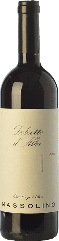 13,95 € Free Shipping | Red wine Massolino D.O.C.G. Dolcetto d'Alba Piemonte Italy Dolcetto Bottle 75 cl