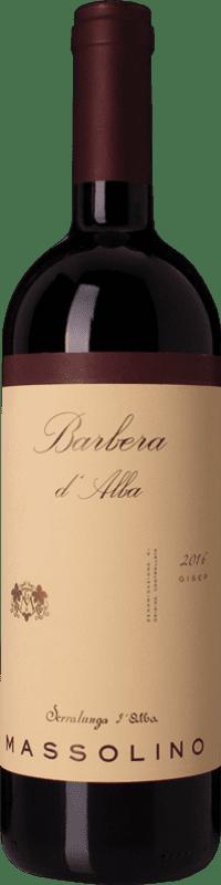 15,95 € Free Shipping | Red wine Massolino D.O.C. Barbera d'Alba Piemonte Italy Barbera Bottle 75 cl