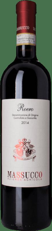 18,95 € Free Shipping | Red wine Massucco D.O.C.G. Roero Piemonte Italy Nebbiolo, Arneis Bottle 75 cl