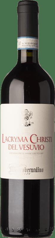 13,95 € | Red wine Mastroberardino Lacryma Christi Rosso D.O.C. Vesuvio Campania Italy Piedirosso Bottle 75 cl