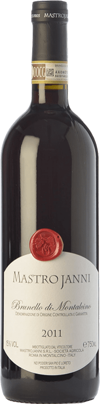 73,95 € Free Shipping | Red wine Mastrojanni D.O.C.G. Brunello di Montalcino Tuscany Italy Sangiovese Bottle 75 cl