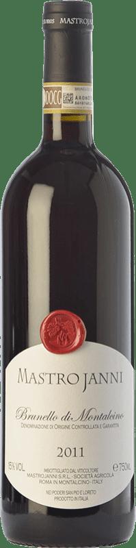 73,95 € Envío gratis | Vino tinto Mastrojanni D.O.C.G. Brunello di Montalcino Toscana Italia Sangiovese Botella 75 cl