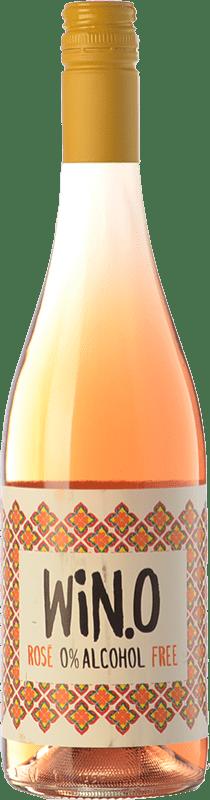 6,95 € 免费送货 | 玫瑰气泡酒 Matarromera Win 0.0 Frizzante 西班牙 Tempranillo 瓶子 75 cl