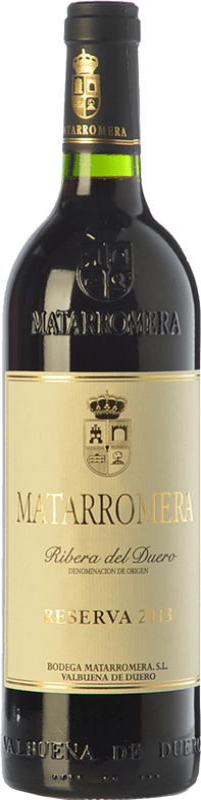 44,95 € Free Shipping | Red wine Matarromera Reserva D.O. Ribera del Duero Castilla y León Spain Tempranillo Bottle 75 cl
