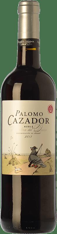 9,95 € | Red wine Mataveras Palomo Cazador Joven D.O. Ribera del Duero Castilla y León Spain Tempranillo, Merlot Bottle 75 cl