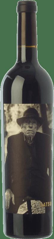 27,95 € | Red wine Matsu Etiqueta B/N Crianza D.O. Toro Castilla y León Spain Tinta de Toro Bottle 75 cl