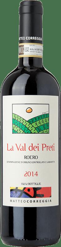 29,95 € Free Shipping | Red wine Matteo Correggia La Val dei Preti D.O.C.G. Roero Piemonte Italy Nebbiolo Bottle 75 cl