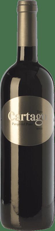 89,95 € | Red wine Maurodos Cartago Paraje del Pozo Crianza D.O. Toro Castilla y León Spain Tinta de Toro Bottle 75 cl
