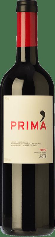11,95 € 免费送货 | 红酒 Maurodos Prima Crianza D.O. Toro 卡斯蒂利亚莱昂 西班牙 Grenache, Tinta de Toro 瓶子 75 cl