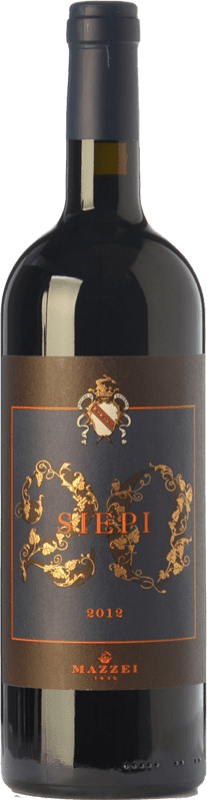 132,95 € | Red wine Mazzei Siepi I.G.T. Toscana Tuscany Italy Merlot, Sangiovese Bottle 75 cl