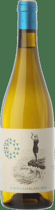 14,95 € | White wine Mesquida Mora Acrollam Blanc D.O. Pla i Llevant Balearic Islands Spain Chardonnay, Parellada, Premsal Bottle 75 cl