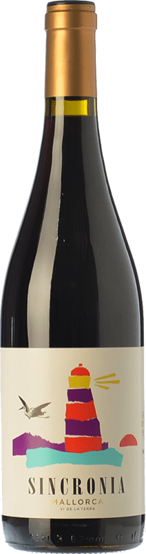 12,95 € Envoi gratuit   Vin rouge Mesquida Mora Sincronia Negre Joven I.G.P. Vi de la Terra de Mallorca Îles Baléares Espagne Merlot, Syrah, Callet, Mantonegro Bouteille 75 cl