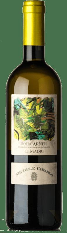 9,95 € Free Shipping | White wine Michele Chiarlo Le Madri D.O.C.G. Roero Piemonte Italy Arneis Bottle 75 cl
