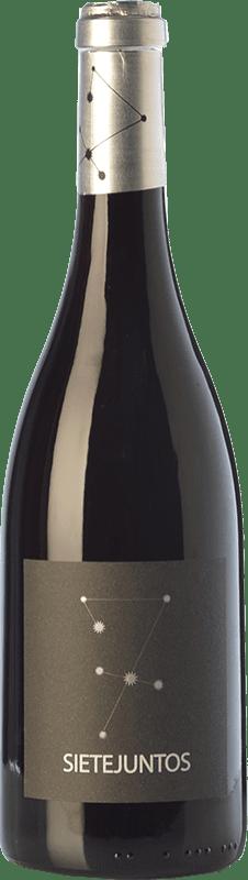 26,95 € Free Shipping | Red wine Microbio Ismael Gozalo Sietejuntos Crianza Spain Merlot Bottle 75 cl