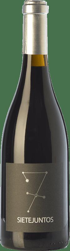 25,95 € Free Shipping | Red wine Microbio Ismael Gozalo Sietejuntos Crianza Spain Syrah Bottle 75 cl