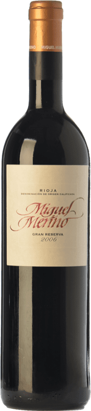 37,95 € Free Shipping | Red wine Miguel Merino Gran Reserva D.O.Ca. Rioja The Rioja Spain Tempranillo, Graciano Bottle 75 cl