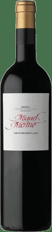 37,95 € | Red wine Miguel Merino Gran Reserva D.O.Ca. Rioja The Rioja Spain Tempranillo, Graciano Bottle 75 cl