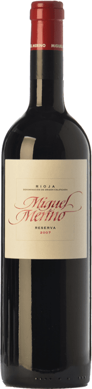 28,95 € Free Shipping | Red wine Miguel Merino Reserva D.O.Ca. Rioja The Rioja Spain Tempranillo, Graciano Bottle 75 cl