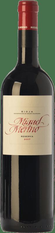 28,95 € | Red wine Miguel Merino Reserva D.O.Ca. Rioja The Rioja Spain Tempranillo, Graciano Bottle 75 cl