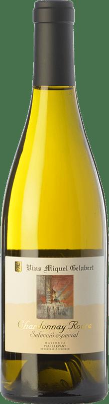 29,95 € 免费送货 | 白酒 Miquel Gelabert Roure Selección Especial Crianza D.O. Pla i Llevant 巴利阿里群岛 西班牙 Chardonnay 瓶子 75 cl