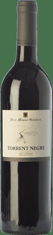 16,95 € Envoi gratuit | Vin rouge Miquel Gelabert Torrent Negre Crianza D.O. Pla i Llevant Îles Baléares Espagne Merlot, Syrah, Cabernet Sauvignon Bouteille 75 cl