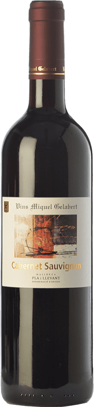 16,95 € 免费送货 | 红酒 Miquel Gelabert Cabernet Sauvignon Crianza D.O. Pla i Llevant 巴利阿里群岛 西班牙 Merlot, Cabernet Sauvignon 瓶子 75 cl