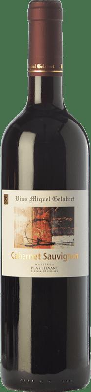 16,95 € Envío gratis | Vino tinto Miquel Gelabert Cabernet Sauvignon Crianza D.O. Pla i Llevant Islas Baleares España Merlot, Cabernet Sauvignon Botella 75 cl