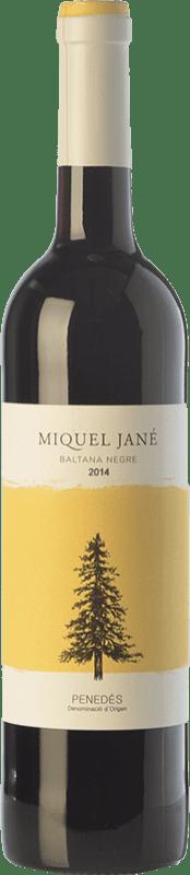 6,95 € Free Shipping | Red wine Miquel Jané Baltana Negre Joven D.O. Penedès Catalonia Spain Merlot, Cabernet Sauvignon Bottle 75 cl