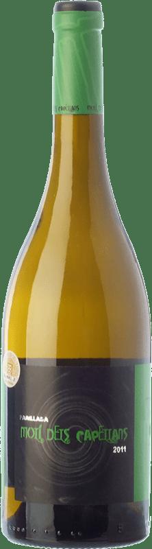 9,95 € Free Shipping | White wine Molí dels Capellans Parellada D.O. Conca de Barberà Catalonia Spain Parellada, Muscatel Small Grain Bottle 75 cl