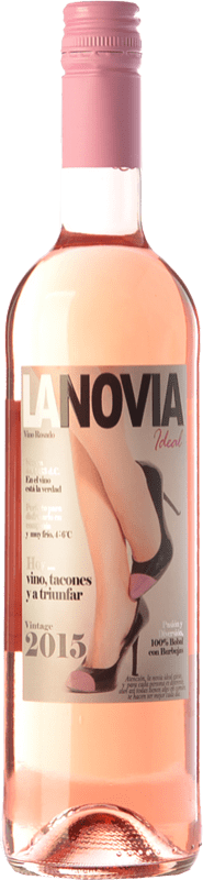 8,95 € | Rosé wine Mondo Lirondo La Novia Ideal D.O. Valencia Valencian Community Spain Bobal Bottle 75 cl