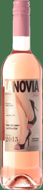 8,95 € Envío gratis | Vino rosado Mondo Lirondo La Novia Ideal D.O. Valencia Comunidad Valenciana España Bobal Botella 75 cl