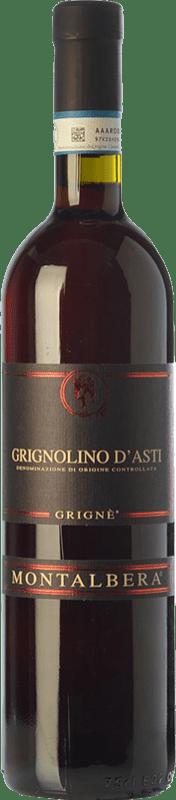 8,95 € Free Shipping   Red wine Montalbera Grignè D.O.C. Grignolino d'Asti Piemonte Italy Grignolino Bottle 75 cl